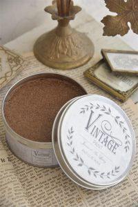 Vintage voks - antik guld 370 ml