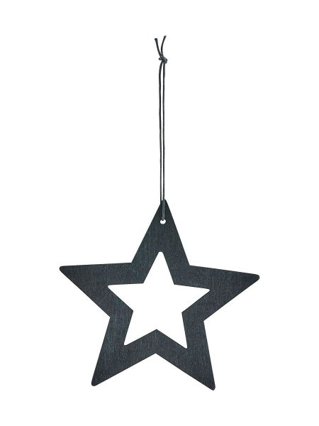 Ornament stars sort 8 cm