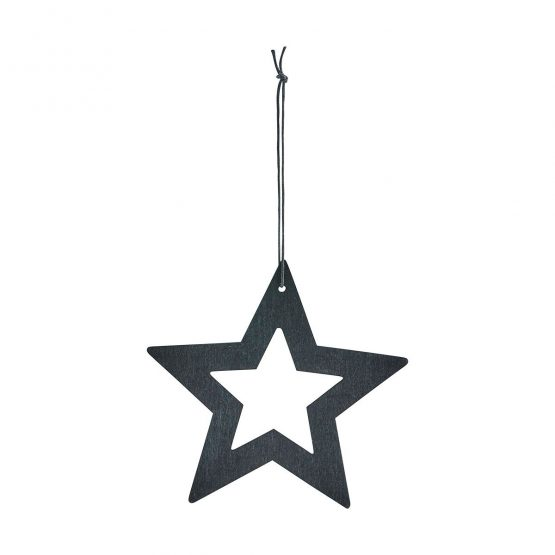 Ornament stars sort 8 cm