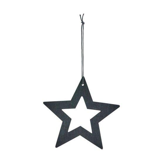Ornament stars sort 12 cm