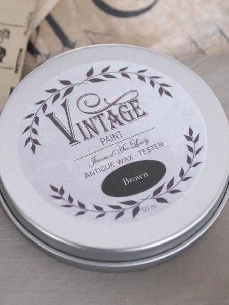 Vintage voks - Brown - 35 ml