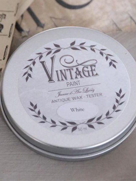 Vintage voks - White - 35 ml