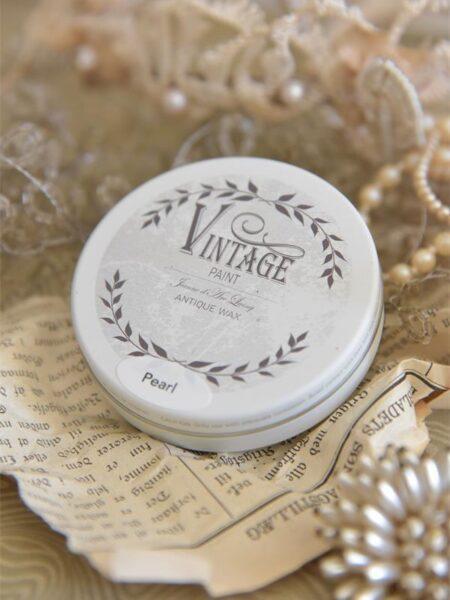 Vintage voks - Perlemor - 35 gram