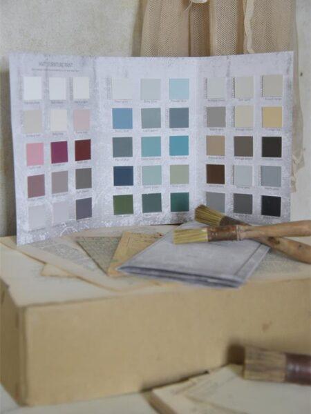 Farvekort - Vintage Paint