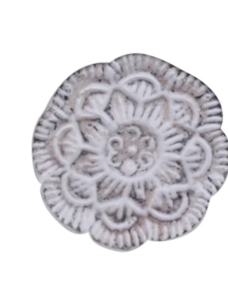 Greb jern Ø3,5 cm antique powder