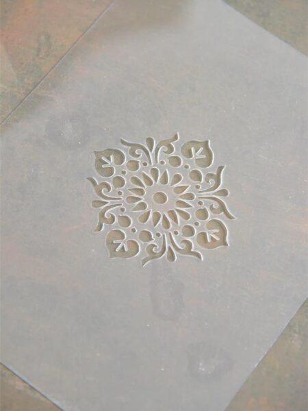 Stencil - Filigran motiv 8