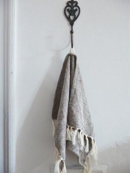 Jern knage - 22 cm - Mørk Vintage