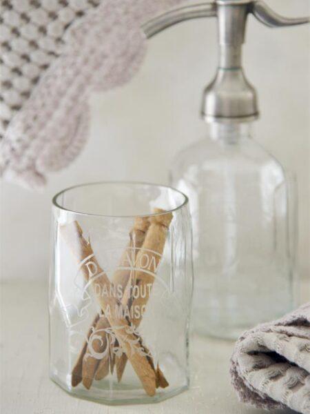 Glas - 10 cm - Dekoration