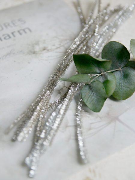 Piberensere - sølv - L.31 cm