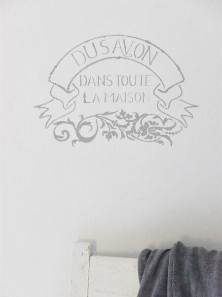 Stencil - Du Savon - 27 cm