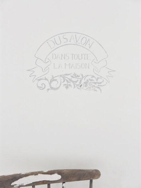 Stencil - Du Savon - 40 cm