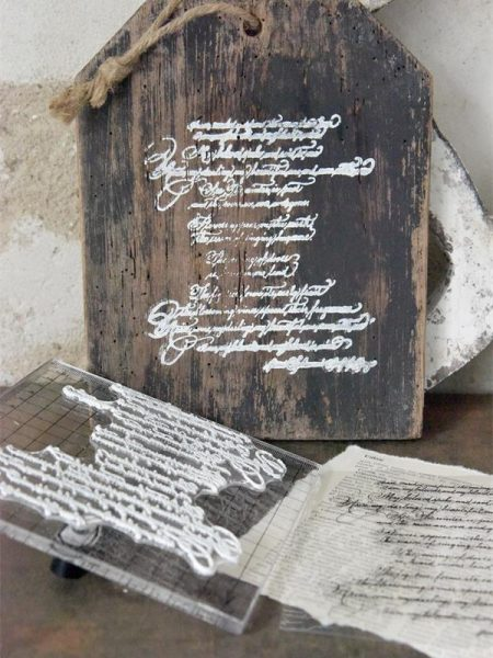 Stempel - Tekst