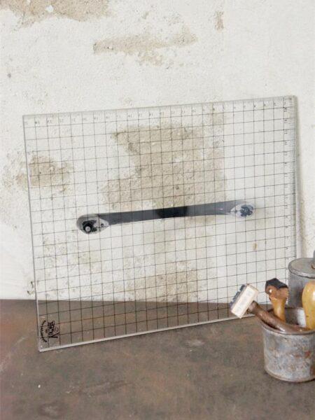Trykplade med håndtag - 20 x 25 cm