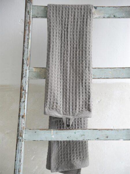 Håndklæde - 50x100 cm - Dark grey