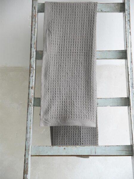 Badehåndklæde - 70x140 cm - Dark grey