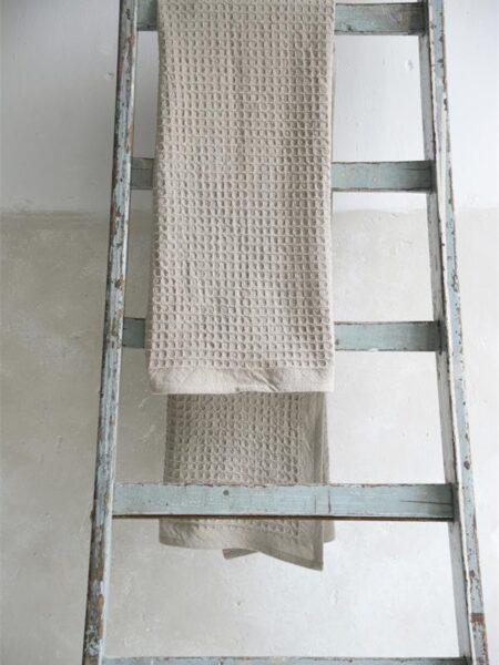 Badehåndklæde - 70x140 cm - Beige