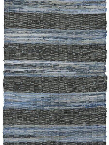 Kludetæppeløber - demin - 70x120 cm