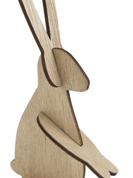 Hare lille siddende træ