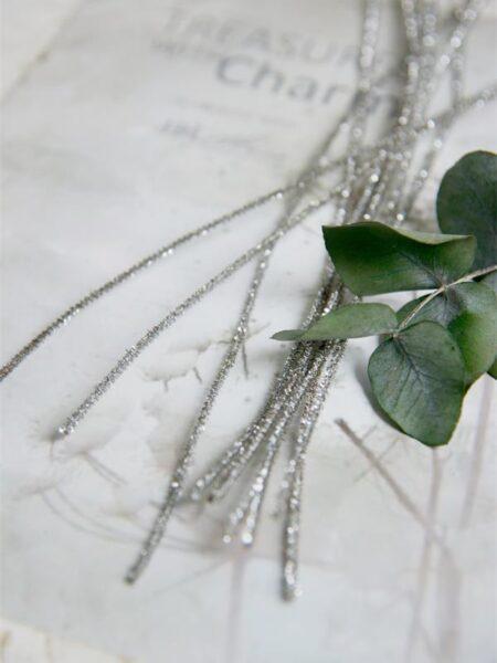 Piberensere - sølv - L.30 cm