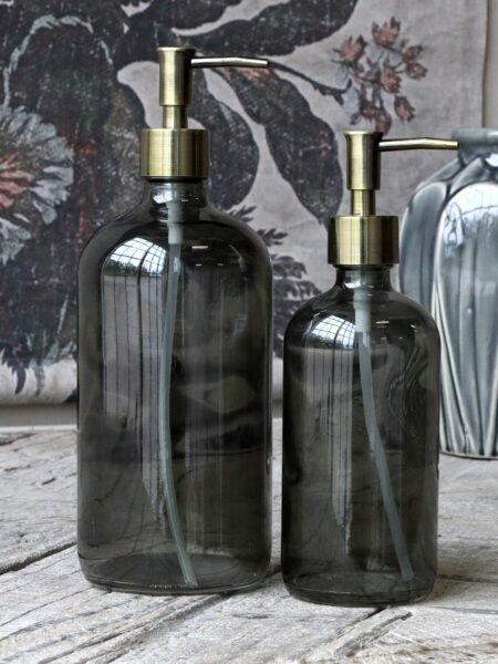 Flaske m. 2 pumper 480 ml. - kul