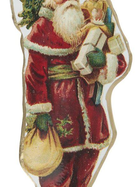 Julemand t/ophæng gaver i hånden