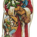Julemand t/ophæng m. juletræ i hånden