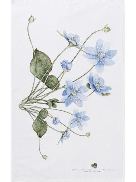 Viskestykke - Blå anemone