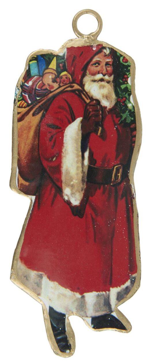 Julemand t/ophæng gavepose på ryggen
