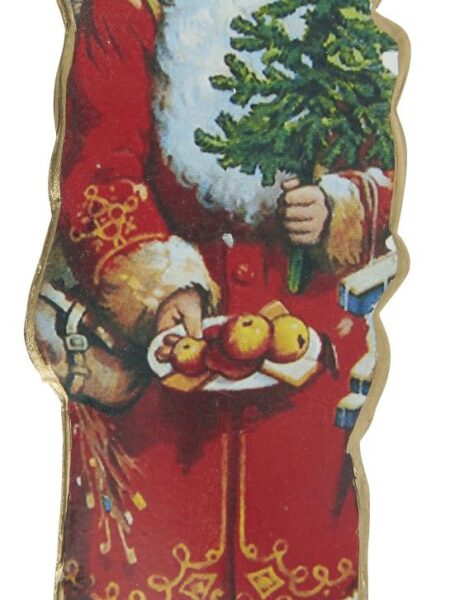 Julemand t/ophæng frugt i hånden