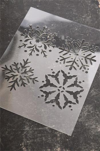 Stencil - Snefnug
