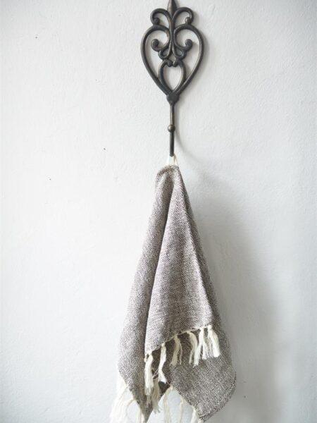 Jern knage - 30 cm - Mørk Vintage