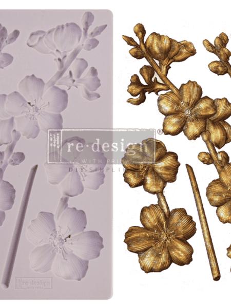 Deko. støbeform - Botanical Blossoms