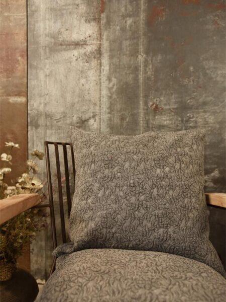 Pudebetræk - Jacquard - 50x50 cm - Grey